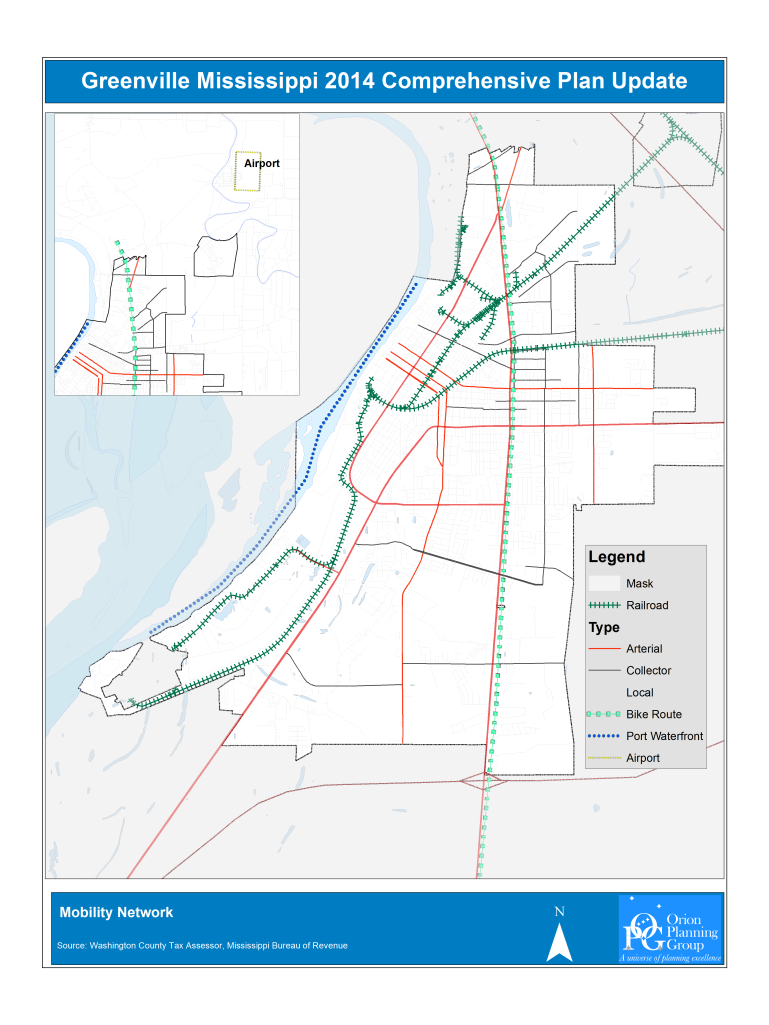 Street Classification Map